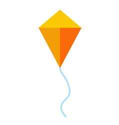 Kite flat vector