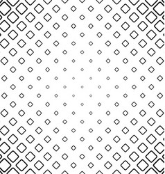 Monochrome abstract rounded line square pattern vector