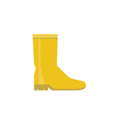 Rubber boot icon vector