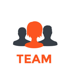 Team icon pictogram vector