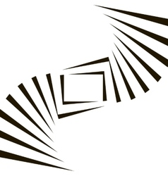 Geometric Black and White Background vector image vector image