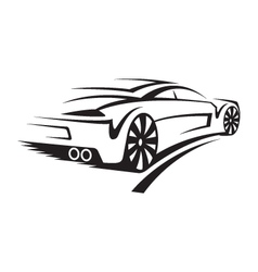 a car vector image