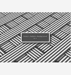 abstract gray and white diagonal stripes lines vector image