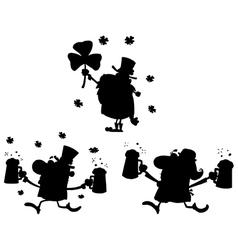 Cartoon st patricks design vector
