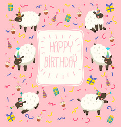 Sheep Birthday Hat Vector Images Over 530 000