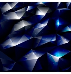 Dark polygonal abstract background vector