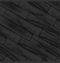 dark wooden laminate vector image