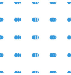 Hay icon pattern seamless white background vector