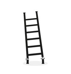 Icon broken ladder vector