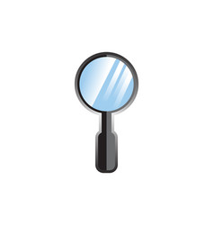 Magnifiying glass vector