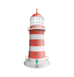 realistic lighthouse vector image