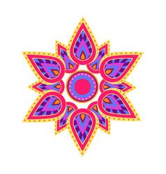 spiritual symbol mandala vector image
