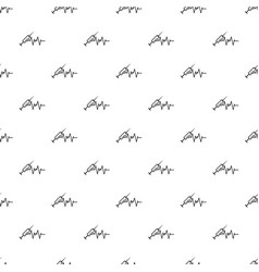 syringe pattern seamless vector image
