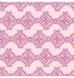 Tribal vintage pattern vector