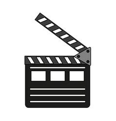 clapperboard icon image vector image vector image