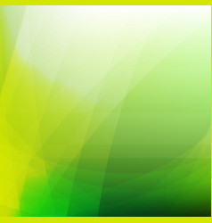 green dynamic background vector image
