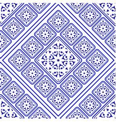 Porcelain pattern decorative vector