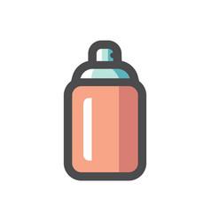 Spray can aerosol paint icon cartoon vector