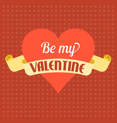 valentine background theme vector image