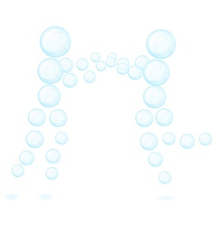 Bubble people Isolated white background Eps10 vector image