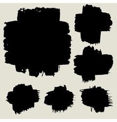 Detail brush texture background vector
