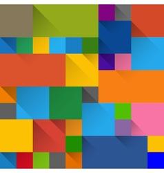 flat design label panels vector image vector image
