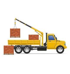 Cargo truck concept 15 vector
