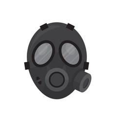 gas respirator mask vector image
