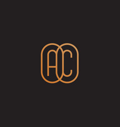 Monogram ac vector