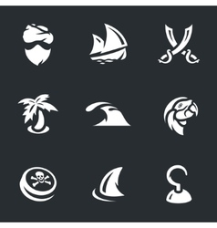Set of Pirates vector