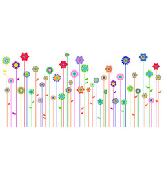 spring background with space for a text vector image
