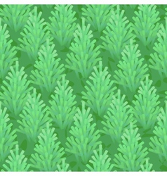 green fir wood seamless vector image vector image