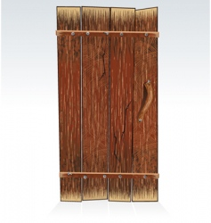 barn door vector image vector image