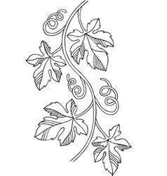 Grape design element vector image