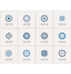 geometric symbols vector image