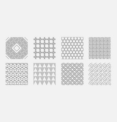 geometrical pattern abstract digital backgrounds vector image