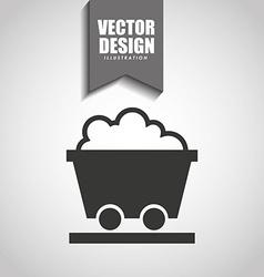 Mining industry icon design vector