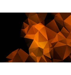 Multicolored background polygon vector image