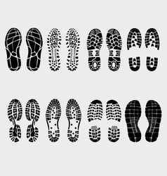 Prints shoe vector