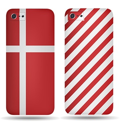 Rear covers smartphone vector
