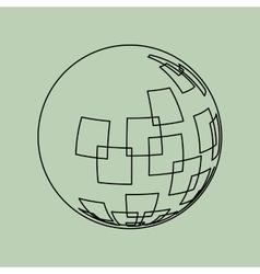 Sphere icon design vector