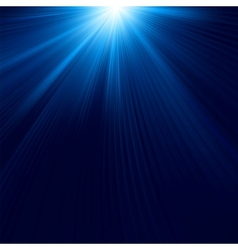 Abstract luminous rays background vector image vector image