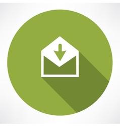 Arrow with envelope vector