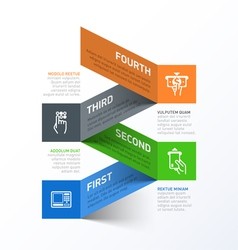 Withdrawing cash from ATM abstract infographics vector image