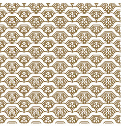 japanese wave traditional seamless pattern vector image