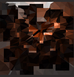 abstract bronze background with triangles vector image