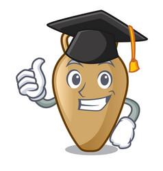 Graduation amphora character cartoon style vector