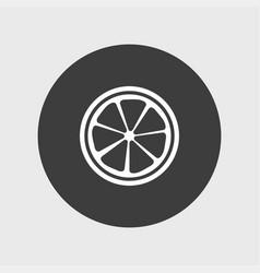 lemon icon simple vector image