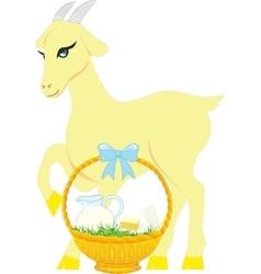 milk Goat vector image