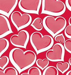 Valentine's day conceptual art backdrop vector